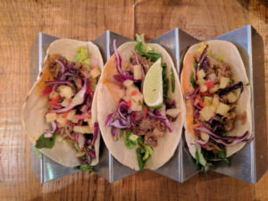 Shredded Pork Tacos - Revolucion de Cuba, Glasgow