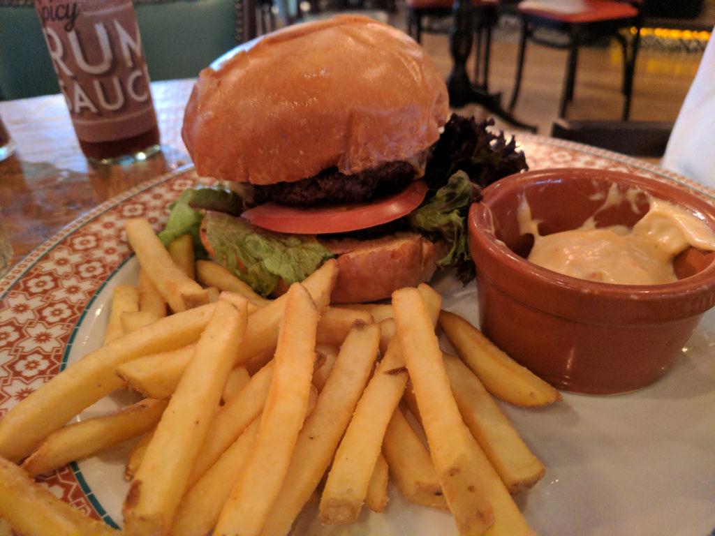 Cuban Cheese Burger - Revolucion de Cuba, Glasgow