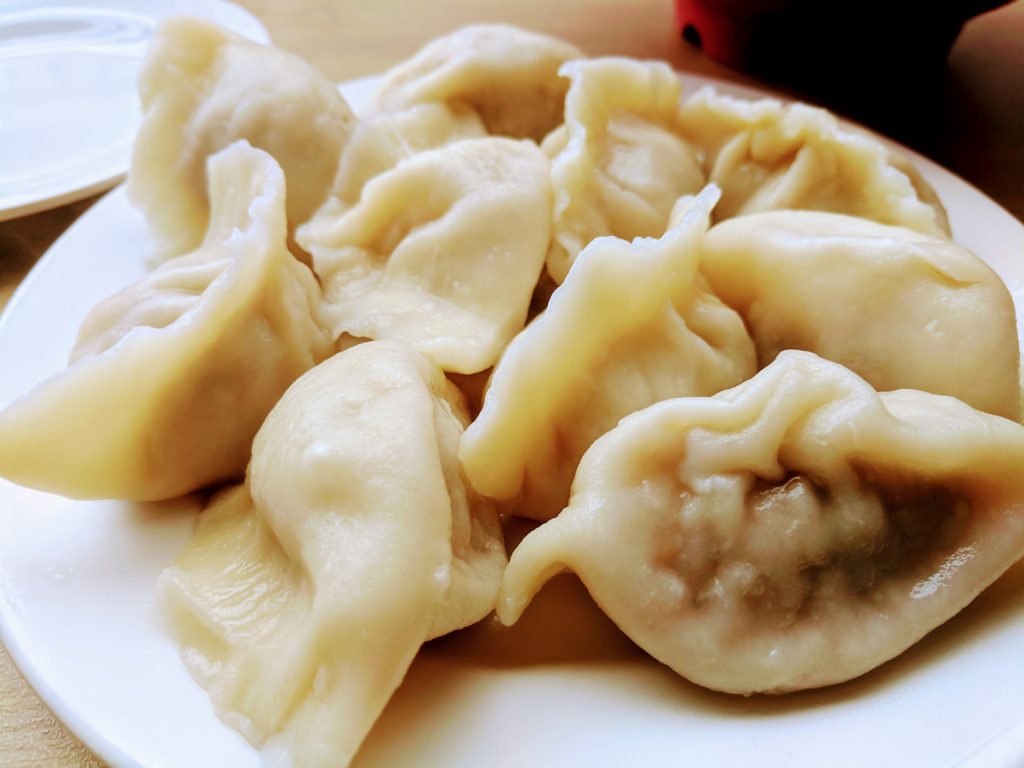 Noodle, Glasgow - Steamed Pork Dumplings