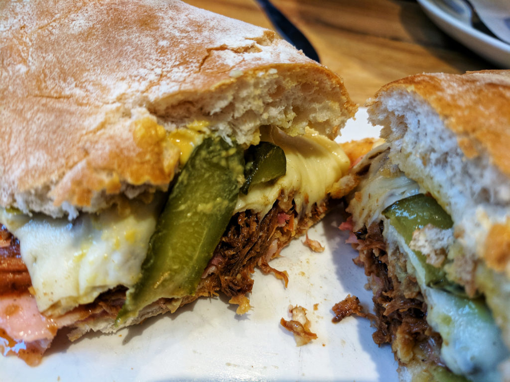 Cuban Sandwich, Roasters Deli, Glasgow