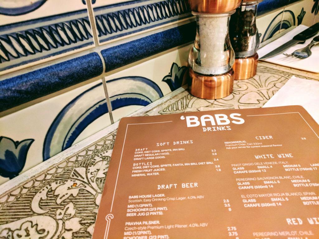 Babs, Glasgow